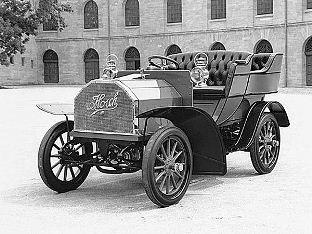 Первый автомобиль Ауди в 1910 году