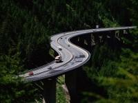 Серпантин дороги опасные участки дороги