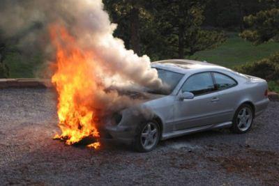 ocenka sgorevshego avtomobilja