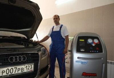 zapravka-kondicionerov mb avto