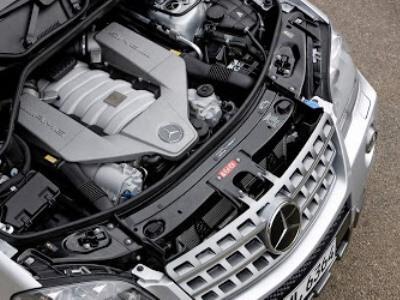 2009 Mercedes-Benz ML 63 AMG (1)