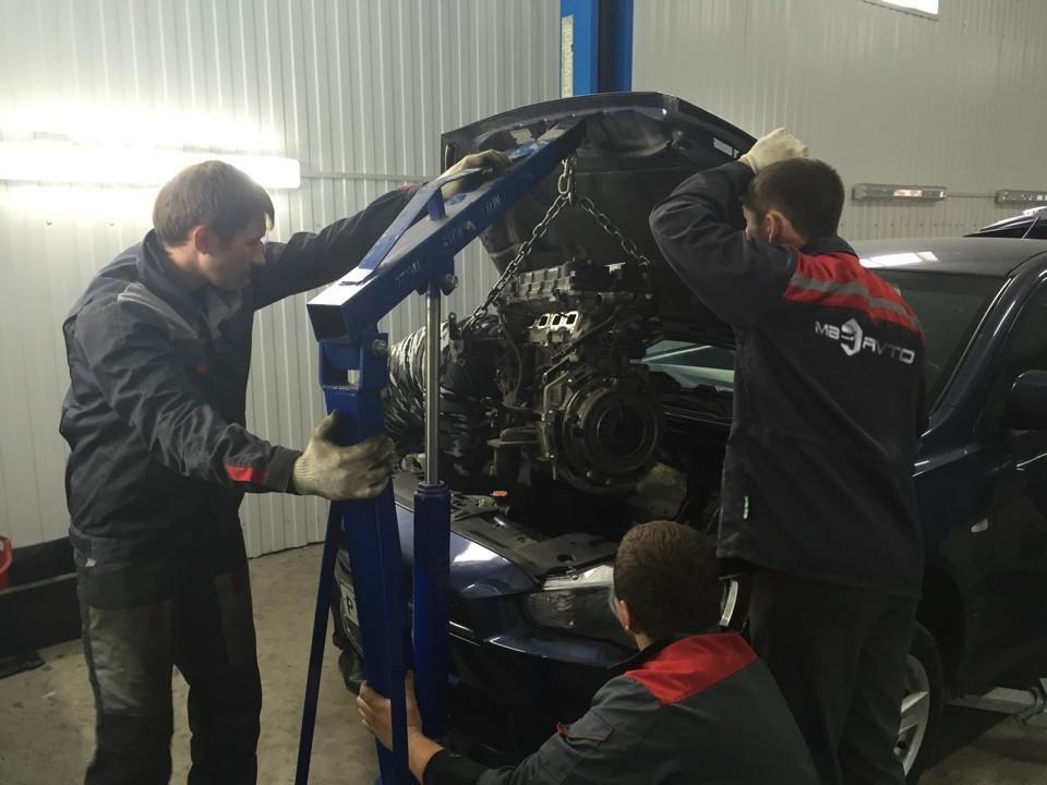 Ремонт двигателя Техцентр MB AVTO