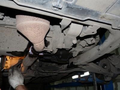 Замена сцепления на Opel Astra 4