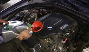 Замена-моторного-масла-и-расходных-материалов-на-BMW-F10