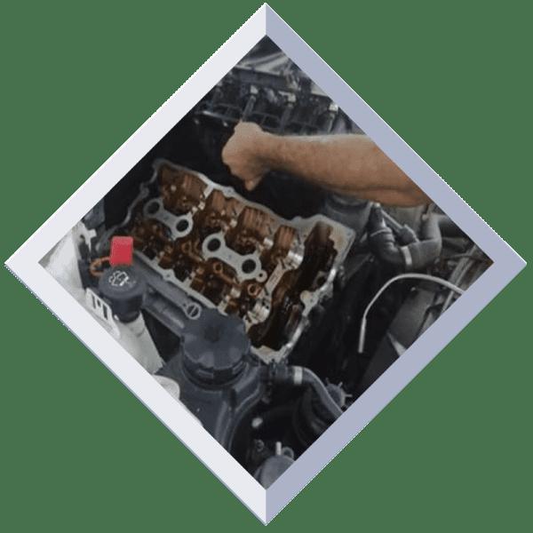 Ромб в центре Ремонт двигателя