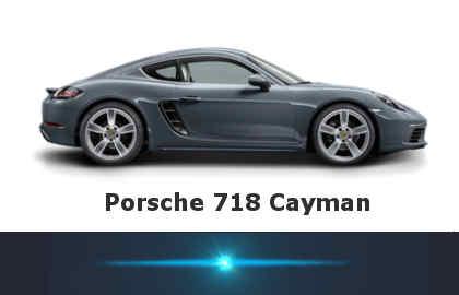 Новый Porsche 718 Cayman