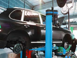 Ремонт ходовой Porsche