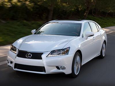6 место - Lexus_GS