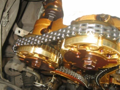 Замена цепи ГРМ на Opel Antara