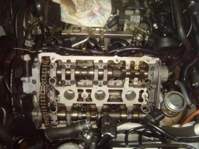 Двигатель Фольсваген в ремонте