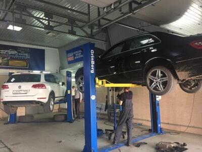Замена подушки АКПП Mercedes-Benz E-klasse