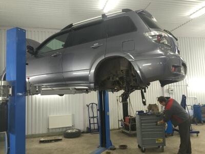 Ремонт задней подвески Mitsubishi Outlander